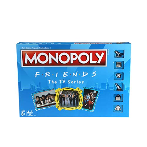 Monopoly: Friends The TV Series Edition Board Game for Ages 8 and Up; Game for Friends Fans (Amazon...