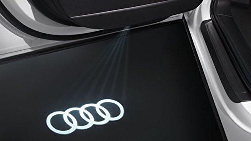 Original LED Einstiegsbeleuchtung / LED Türprojektoren Schriftzug Laser Projektor / Logo Ringe Emblem