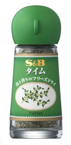 S&B タイム(フリーズドライ) 2.5g×5個