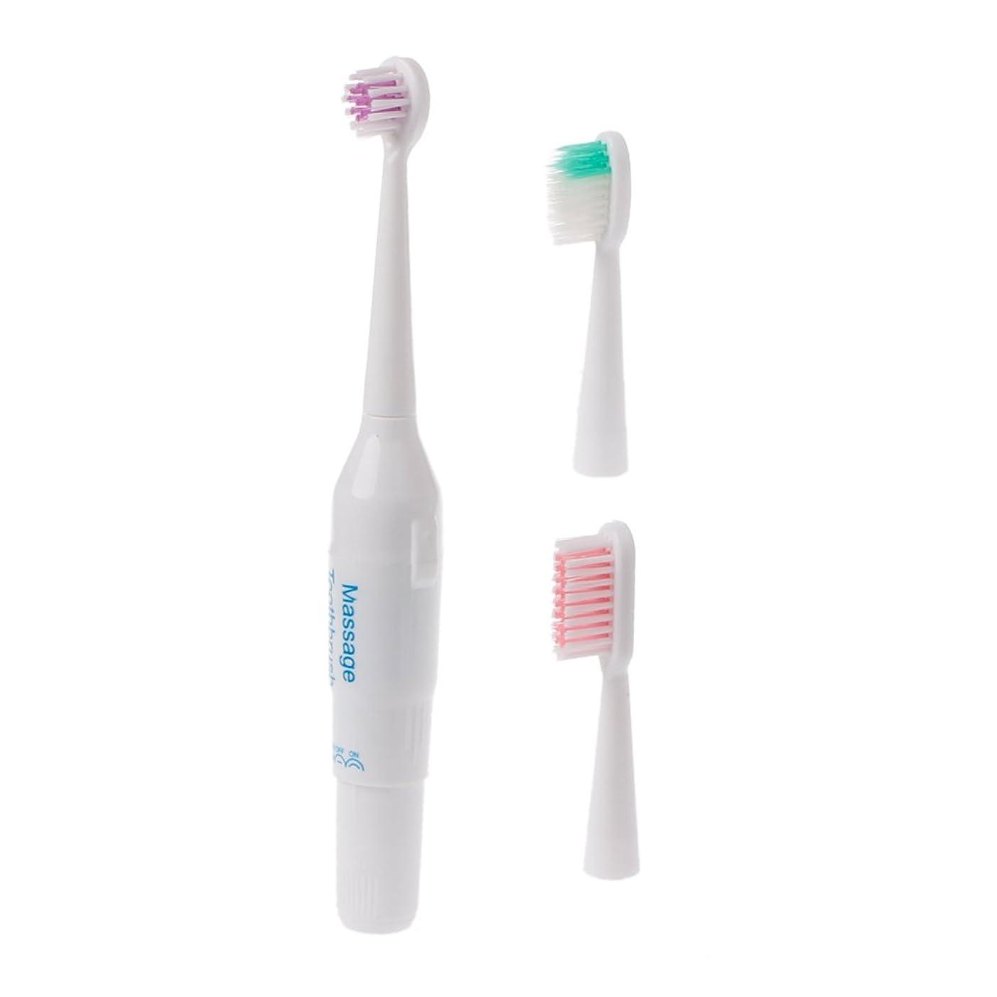 日光弾丸主婦Manyao キッズプロフェッショナル口腔ケアクリーン電気歯ブラシパワーベビー用歯ブラシ
