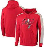 Men Hoodie - Tampa Bay Buccaneers Rugby Team Training Sweat Chaud avec Le Sport de Poche en Polaire Pull, S-3XL,Jersey Rugby