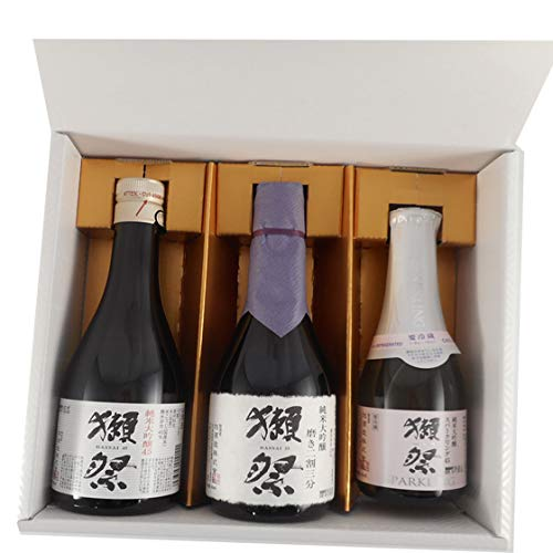 お歳暮 ギフト 日本酒 獺祭 飲み比べセット 純米大吟醸 磨き 23/45 300ml 獺祭45スパークリング 180ml 3種 ギフトボックス 3本セット クール便