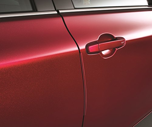 TOYOTA Genuine Door Edge Guards (PT936-03150-18) for Select Camrys-Color:Predawn Gray Mica