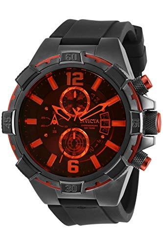invicta Men's 30406 Aviator Quartz Multifunction Black Dial Watch