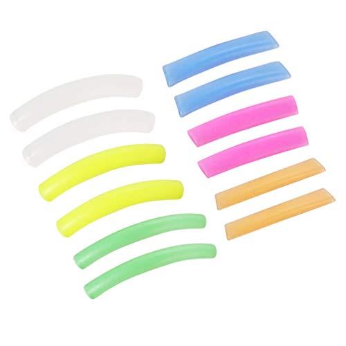 HEALLILY Coussins de Perming Des Cils Silicone Perm Lift Pads Coussinets de Greffage de Faux Cils Recourbeur pour Joint de Rallonge de Levage de Cils 1 Set