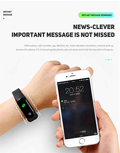 HUG PUPPY Smart Band Fitness Tracker Watch with Heart Rate, Activity Tracker