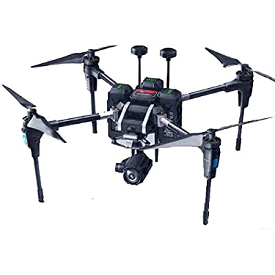 GAO-Drone-102 Drone, Dual IMU, Compass & Dual GPS System, Foldable Design for Portability, 30x Optical Zoom Lens, Thermal Infrared Camera, Low-Light Night-Vision Camera, 5 km Video Transmission, UAV