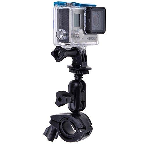 Camera-accessoires voor fiets, 360 graden draaibaar, houder voor stuur met schroefadapter en statief voor GoPro Hero6/5/5/seizoen/4/3/2/1