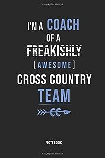 Cross Country Running | Notebook: Lined Cross Country Running Notebook / Journal. Great CC Accessories & Novelty Coach Gift Idea for all XC Runner.