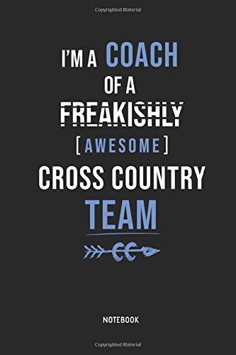 Cross Country Running   Notebook: Lined Cross Country Running Notebook / Journal. Great CC Accessories & Novelty Coach Gift Idea for all XC Runner.