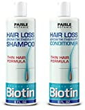 Biotin Shampoo and Conditioner for Hair Growth Shampoo and Conditioner for women Hair Regrowth for Men - Paraben Free and Sulfate Free Shampoo and conditioner set - Argan oil Biotin DHT Blocker