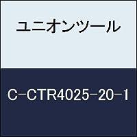 ユニオンツール 超硬エンドミル テーパ φ2.5×刃長20×片角 0.3°CCTR4025201