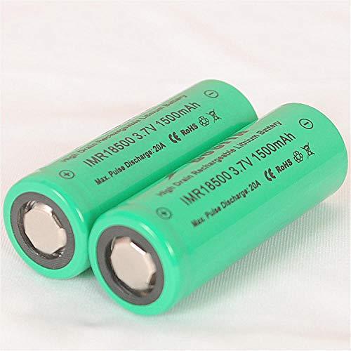Batería Recargable 18500-1500mah-3.7v Adecuada para lámpara de minero Solar farola battery-4pcs