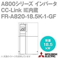 三菱電機(MITSUBISHI) FR-A820-18.5K-1-GF CC-Link IE内蔵インバータ 三相200V (容量:18.5kW) (FMタイプ) NN