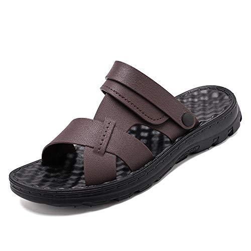 Ballyzess Zoccoli E Sabot Uomo Sandali Sandali da Uomo Scarpe Estive da Uomo Sandali E Pantofole da Uomo Scarpe da Spiaggia Coreane Pantofole-44