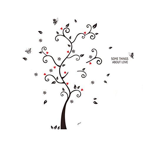 Chytaii - Adhesivo decorativo para pared, diseño de árbol