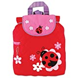 Stephen Joseph Children's Quilted Backpacks Kinder-Rucksack, 33 cm, 2 liters, Rot (Red)