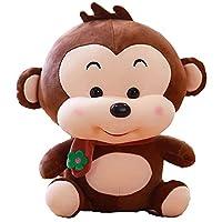 サル ぬいぐるみ かわいい だきまくら 小さい 猿抱き枕 おもちゃ スーパソフト ベッドルーム プレゼント 贈り物 リラックス 癒しグッズ 体長い 子供へ 彼女へ 誕生日 干支 萌え萌え ふわふわ 5サイズ