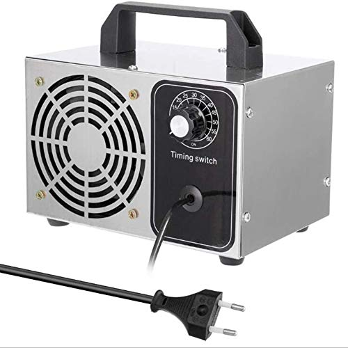 YLEI Purificador de Aire - 24G Generador de Ozono Portatil, Máquina Tabletas Purificador de Aire Ozonizador con Temporizador, Ozonizador Máquina