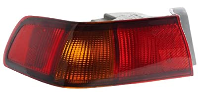 Epic Lighting OE Fitment Replacement Rear Brake Tail Light Assembly Compatible with 1997-1999 Camry [ TO2800124 81561AA010|81560AA011 ] Left Driver Side LH
