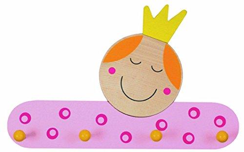 Niermann-Standby 937 - garderobe prinses - Hier hangt de kleine prinses hun gewand op. Garderobe van hout met 4 haken