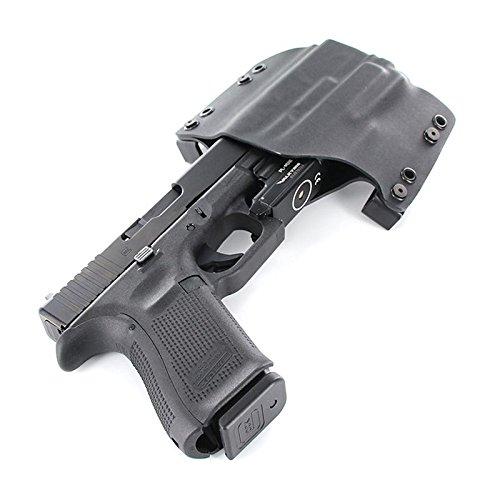 OWB Holster - Olight PL-Mini - Black (Right-Hand, Glock 19,23,32)