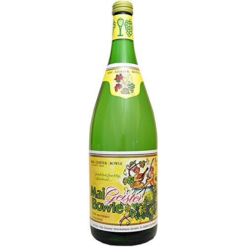 6 Flaschen Mai Geister Mai Bowle a 1L aromatisierter weinhaltiger Cocktail 5,5%