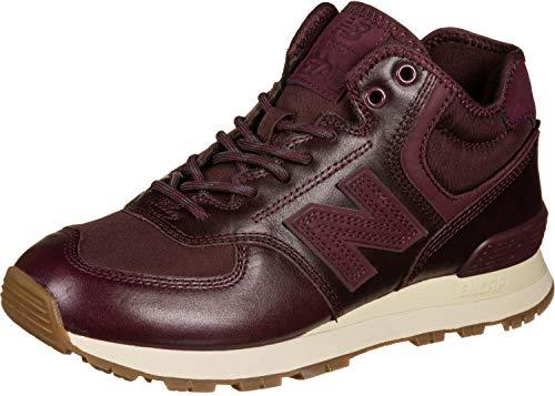 New Balance Sneaker Damen WH574BC Dunkelrot Burgundy, Schuhgröße:37.5