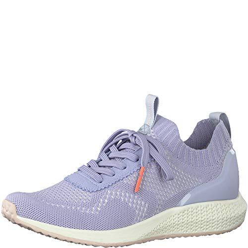 Tamaris Fashletics Damen Sneaker Hellblau, Schuhgröße:EUR 36