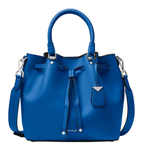 Michael Kors Blakely Leather Bucket Shoulder Crossbody Bag