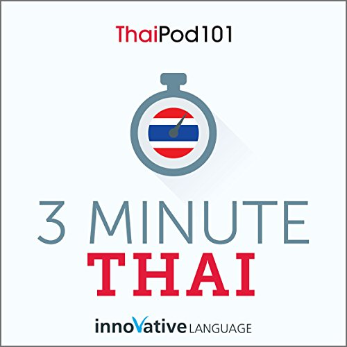 3-Minute Thai audiobook cover art