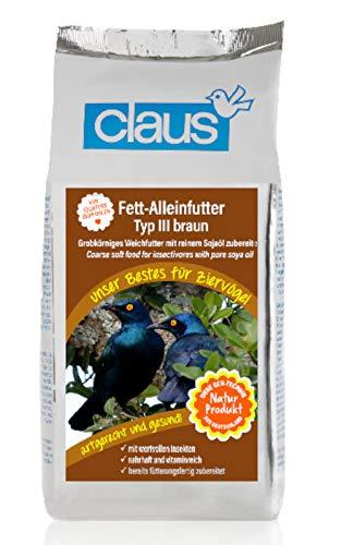 Claus Fett-Alleinfutter braun (TYP III) 1.000 g