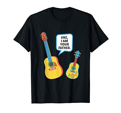 Uke I Am Your Father Funny Ukelele Guitar T-Shirt Gift