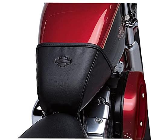 Harley-Davidson Motorrad Tankschutzhauben Cover Bar & Shield Logo für XL Modelle ab ´04 mit 3,3 Gallonen-Tank Schwarz
