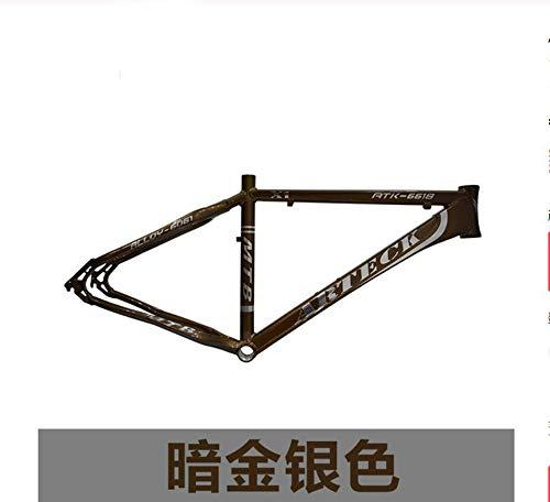 WANGYONGQI 26 Zoll * 17 Zoll 18 Zoll Scheibenbremsen Fahrradrahmen V Doppelstativ Aluminium,B