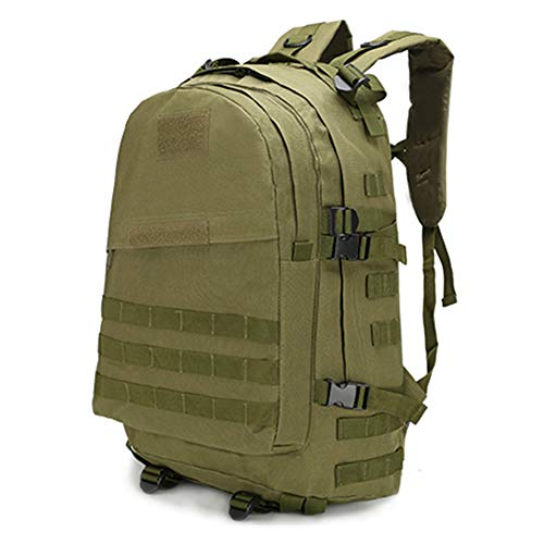 duoying 40L Military Tactical Backpack Large Army Assault Pack Shoulder Bag Rucksacks Daypack for Outdoor Hiking Camping Trekking Hunting
