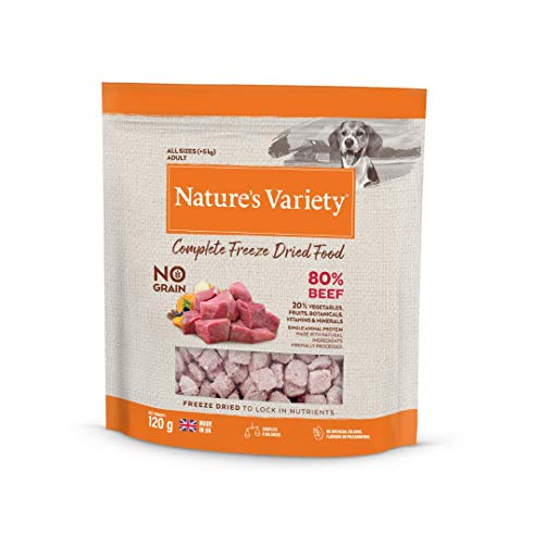 Natures Variety COMPLETE FREEZE DRIED FOOD BEEF 6 x 120g