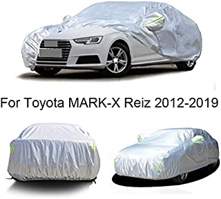Momoap / Automobile Indoor Outdoor Cover Car Cover All Weather Car Covers Full Car Cover for Toyota Mark-X Reiz 2012-2020