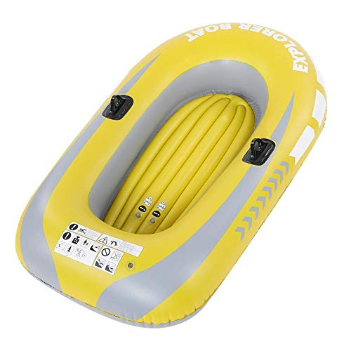 SHIJING 1/2 Person Schlauchboot Kajak Kanu 55 / 90kg Rudern Luftboot Doppelventil Treiben Tauchen Schlauchboot Fischerboot,2