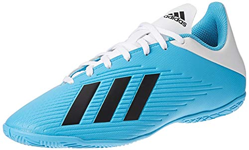 adidas Mens F35341_41 1/3 Indoor Football Trainers, Blue, 1/3EU