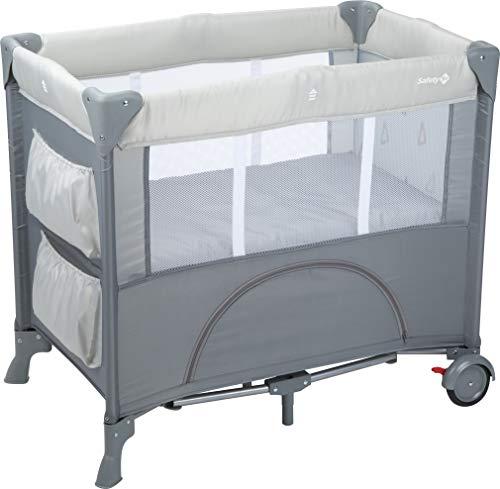 Safety 1st Mini Dreams Lit parapluie Bébé, lit de voyage bébé, De la naissance à 9 mois, Warm Grey