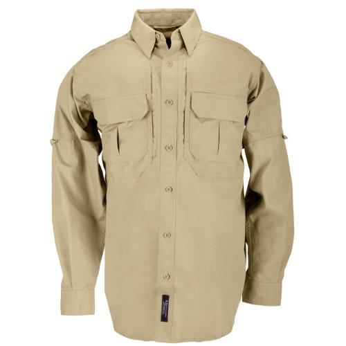 5.11 Herren Tactical Shirt. Small Coyote Brown