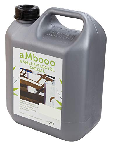 Pflegeöl für Bambus Terrassendielen - White oak2,5l