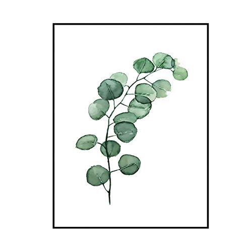 """CHRONSTYLE Poster 40x50cm Blätter & Pflanzen - Design """"Leaves- Bilder, KunstdruckePrints von unabhängigen Künstlern - Botanische Kunst mit Pflanzen (3, 30 * 40cm)"""