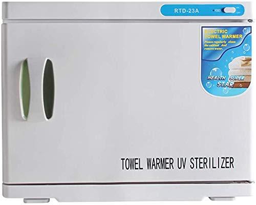 OUKANING toallero para desinfectar la toalla, calentador de toalla, luz ultravioleta, esterilizador, salón de peluquería, salón de belleza, volumen de 23 L