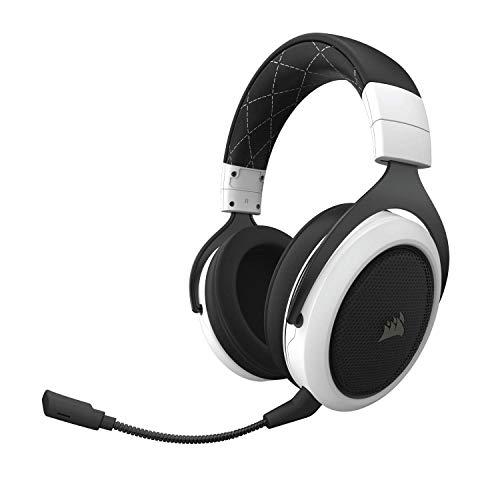 Corsair CA-9011177-AP HS70 7.1 Surround Sound Wireless Gaming Headset (White)