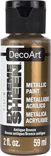 Artdeco DecoArt Americana–Extreme Brillo Tarro de Pintura, acrílico, Bronce Antiguo, 3,5x 3,5x 10cm