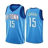 Cousins Rockets 15 # Camiseta de baloncesto de los deportes chaleco de los hombres de la aptitud de la ropa de entrenamiento de secado rápido transpirable suelto de baloncesto sin mangas camiseta XXL