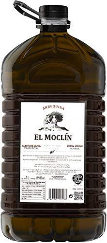 El Moclín Aceite De Oliva Virgen Extra En 5 Litro Caja Web, Sobre El Paladar Suave, Aterciopelado Que Nos Recuerda A Frutas Como El Plátano, Manzana Y Almendra., 5000 Mililitro