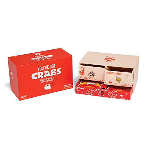You've Got Crabs by Exploding Kittens - A Card Game Filled with Crustaceans and Secrets - Family-Friendly Party Games - Card Games For Adults, Teens & Kids